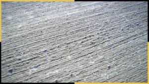 Broom finish concrete