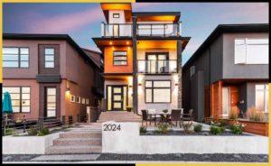 Photos Showing Contemporary / Modern Landscaping Ideas for Calgary Backyards